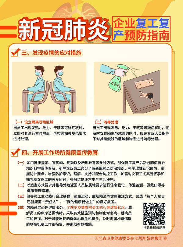 新冠肺炎企业复工复产预防指南2