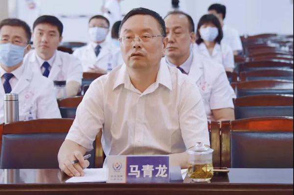 承德市纪委驻市卫健委纪检组组长马青龙出席演讲会并担任评委